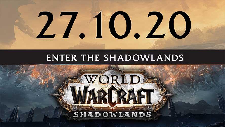 World of Warcraft: Shadowlands release date revealed